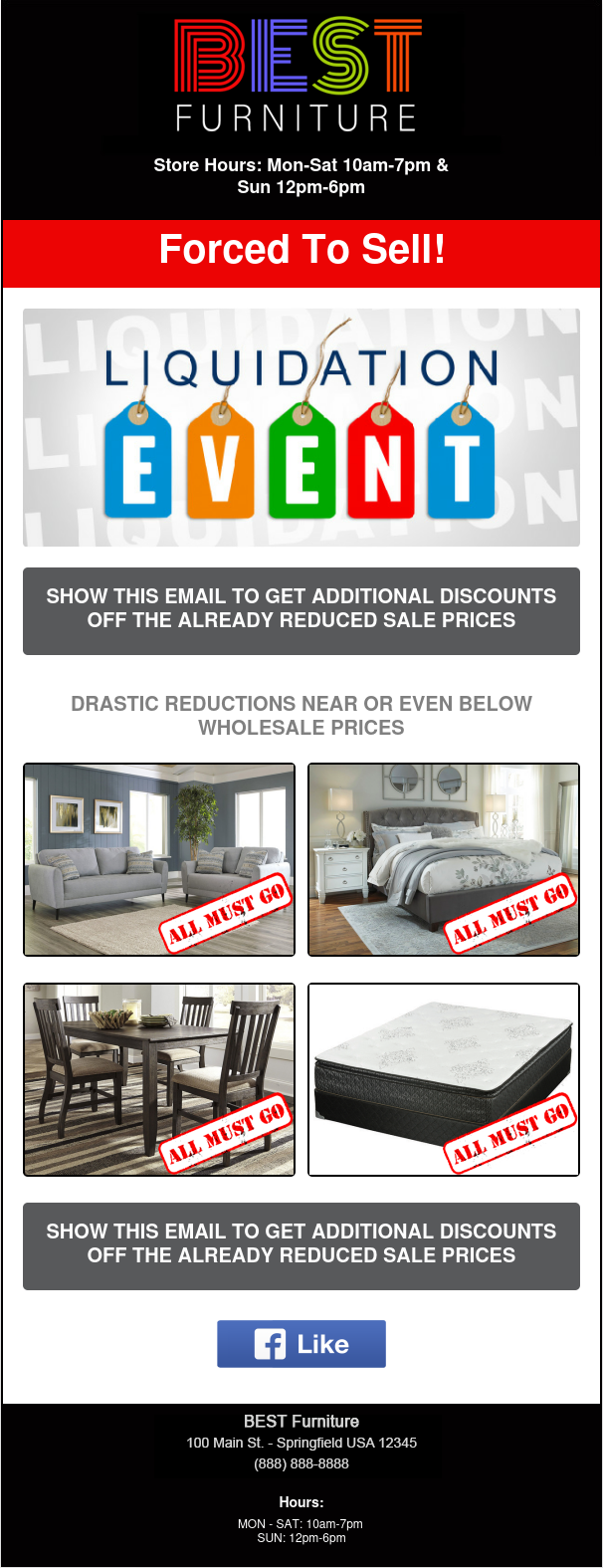 Email Newsletter Example